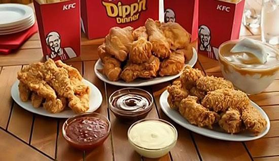 Калорийность блюд в KFC