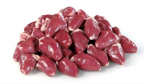 Калорийность куриных сердечек