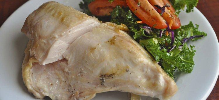 Количество белка в куриной грудке