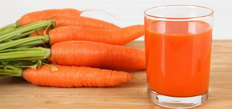 Калорийность морковного сока