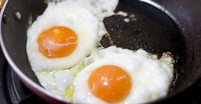 Калорийность яичницы из 1 яйца