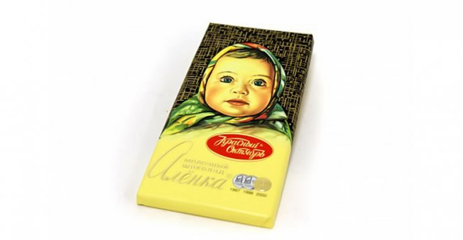 Калорийность шоколада Аленка