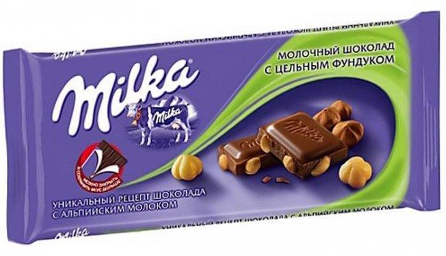 Калорийность шоколада Милка