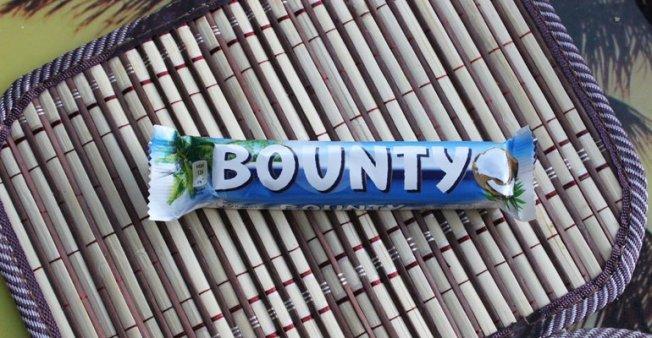 Калорийность Bounty
