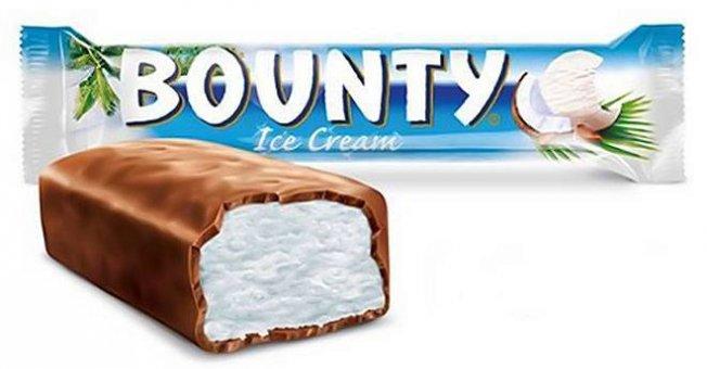 Калорийность мороженого Bounty