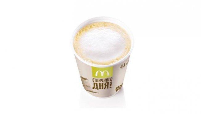 Калорийность латте в Макдоналдс