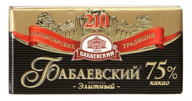 Калорийность горького шоколада