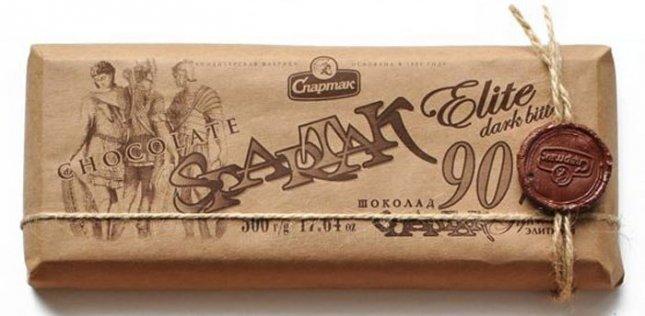 Шоколад горький Спартак