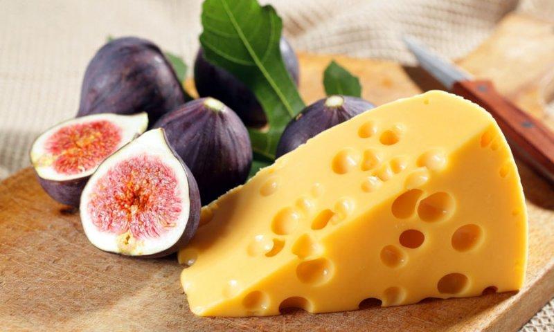 Калорийность сыра Маасдам