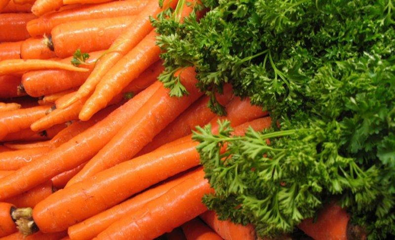 Сколько углеводов в моркови